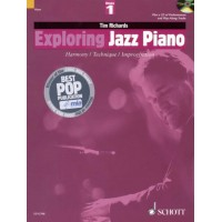 کتاب آموزش پیانو جاز Tim Richards_Exploring Jazz Piano Vol 1